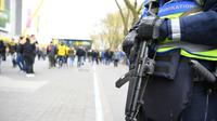 Officier de police allemande à Dortmund, le 12 avril 2017 [PATRIK STOLLARZ / AFP/Archives]