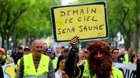 """Manifestation de """"gilets jaunes"""", le 25 mai 2019 à Amiens  [FRANCOIS NASCIMBENI / AFP]"""