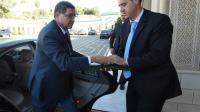 Le Premier ministre Habib Essid à son arrivée le 25 novembre 2015 au palais de Carthage à Tunis [FETHI BELAID / AFP/Archives]