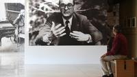 """Au """"Musée du Président Jacques Chirac"""" de Sarran, en Corrèze, le 21 septembre 2016  [MEHDI FEDOUACH / AFP]"""