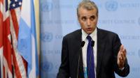L'ambassadeur adjoint français auprès des Nations unies, Alexis Lamek, le 16 septembre 2013 au siège de l'Onu, à New York [STAN HONDA / AFP/Archives]