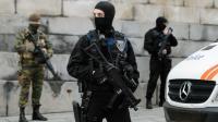 Policiers et militaires  le 20 novembre 2015 à Bruxelles [NICOLAS LAMBERT / BELGA/AFP]