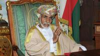 Le sultan d'Oman, Qabous, à Mascate le 1er novembre 2015 [STR / AFP/Archives]
