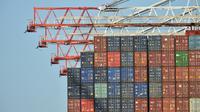 Le gouvernement britannique souhaite un accord d'union douanière intérimaire d'environ deux ans avec l'UE après le Brexit [GLYN KIRK / AFP/Archives]