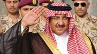 Le ministre de l'Intérieur saoudien, le prince Abdel Aziz ben Saud ben Nayef, à Ryad le 19 mai 2015. [FAYEZ NURELDINE / AFP]