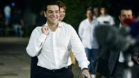 L'ancien Premier ministre grec Alexis Tsipras à son arrivée à un débat télévisé le 14 septembre 2015 à Athènes [LOUISA GOULIAMAKI / AFP]