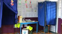 Bureau de vote à Mayotte le 18 mars 2018 lors du premier tour de l'élection législative partielle [Ornella LAMBERTI / AFP/Archives]