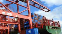 Des conteneurs dans le port de Lianyungang, le 13 juillet 2018 en Chine [STR / AFP/Archives]