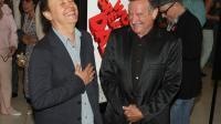 Les acteurs Billy Crystal (g) et Robin Williams, le 13 août 2009 à Los Angeles [Jason Merritt / Getty Images/AFP/Archives]
