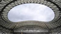 Les travaux du stade Velodrome de Marseille, le 4 juillet 2014 [Boris Horvat / AFP]