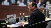 Le président français François Hollande au sommet du G20 à Hangzhou, le 4 septembre 2016 [STEPHANE DE SAKUTIN / AFP]