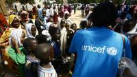 Dans un camp de personnes déplacées au Darfour, le 8 février 2017 [ASHRAF SHAZLY / AFP]