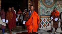 Le nouveau Premier ministre du Bouthan, Tshering Tobgay, avant la cérémonie organisée pour sa nomination, le 27 juillet 2013 [Upasana Dahal / AFP]