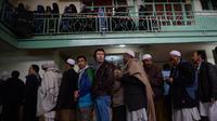 Des électeurs afghans aux urnes à Kaboul, le 5 avril 2014  [Shah Marai / AFP/Archives]