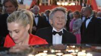 Roman Polanski et son épouse Emmanuelle Seigner le 25 mai 2013 à Cannes [Alberto Pizzoli / AFP/Archives]
