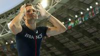 Renaud Lavillenie pendant le concours du saut à la perche des Mondiaux d'athlétisme le 12 août 2013 à Moscou  [FRANCK FIFE / AFP Photo]