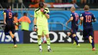 Comme face aux Pays-Bas, Iker Casillas et les Espagnols ont sombré. Résultat, ils sont éliminés.