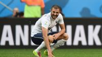 A l'image de Karim Benzema, l'attaque de l'équipe de France fait la grimace avant d'affronter la Serbie.