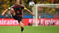 Le capitaine de l'Allemagne Philipp Lahm, lors de la demi-finale de Coupe du monde contre le Brésil, le 8 juillet 2014 à Belo Horizonte [Patrik Stollarz / AFP]
