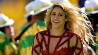 La chanteuse colombienne Shakira chante lors de la cérémonie de clôture du Mondial de football à Rio de Janeiro le 13 juin 2014 [Pedro Ugarte / AFP/Archives]