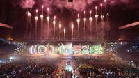 Cérémonie d'ouverture, le 23 juillet 2014, des 20e Jeux du Commonwealth, à Glasgow [Andrej Isakovic / AFP]