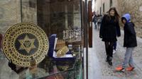 Le quartier juif de Tolède, qui appartient, comme Avila, à un réseau de 24 villes espagnoles (Red de Juderias) tentant de retrouver et promouvoir leur héritage juif, vue d'archives du 27 février 2014  [Gérard Julien / AFP/Archives]
