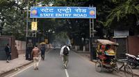 Vue d'une rue où une touriste danoise aurait été violée par un groupe d'hommes, le 14 janvier 2014 à New Delhi, en Inde  [Sajjad Hussain / AFP]