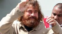 L'homme se présentant comme José Salvador Alvarenga à Majuro, capitale des îles Marshall, le 3 février 2014 [Hilary Hosia / AFP]