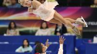 Les Allemands Aliona Savchenko et Robin Szolkowy aux Mondiaux-2014 de patinage artistique à Saitama, au Japon, le 27 mars 2014 [Kazuhiro Nogi / AFP]