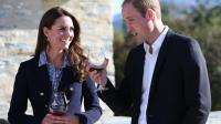 Le prince William et sa femme Catherine, duchesse de Cambridge, à Queenstown en Nouvelle-Zélande, le 13 avril 2014 [Fiona Goodall / Pool/AFP]
