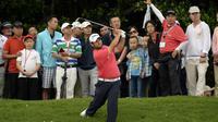 Le Français Alexander Levy lors de l'Open de Chine à Shenzhen le 26 avril 2014 [ / Oneasia/AFP]