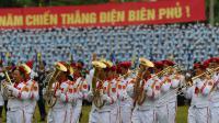 Les célébrations du 60e anniversaire de la victoire de Dien Bien Phu, le 7 mai 2014 à Dien Bien Phu, au Vietnam [Hoang Dinh Nam / AFP]