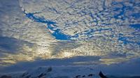 Les couleurs froides et puissantes de l'Antarctique, vues depuis le brise-glace brésilien Ary Rongel, le 4 mars 2014 [Vanderlei Almeida / AFP/Archives]