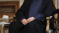 Le président iranien Hassan Rohani, le 10 septembre 2013 à Téhéran [- / Site web de la présidence iranienne/AFP/Archives]