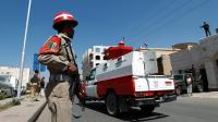 Des soldats yéménites à Sanaa [Mohammed Huwais / AFP/Archives]