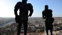 Des forces de sécurité algérienne à Ghardaïa le 18 mars 2014 [Farouk Batiche / AFP/Archives]