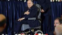 Le président algérien réélu Abdelaziz Bouteflika qui a prêté serment en fauteuil roulant et d'une voix hésitante le 28 avril 2014 à Alger [Farouk Batiche / AFP]