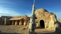 A Ong Jmel, dans le sud tunisien, dans le désert, un lieu de tournage pour une des nombreuses scènes de Star Wars, photographié le 4 mai 2014 [Fethi Belaid / AFP/Archives]