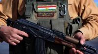 Un soldat des forces kurdes, qui combattent les jihadistes de l'Etat islamique (EI), le 8 août 2014 à Khazer, à l'ouest d'Erbil, en Irak [Safin Ahmed / AFP/Archives]
