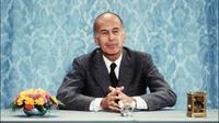 Le président de la république Valéry Giscard d'Estaing répond aux questions des journalistes lors d'une conférence de presse, le 26 juin 1980 à l'Elysée à Paris [ / AFP/Archives]