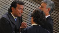 Francesco Schettino au début de son procès  le 17 juillet 2013 à Grosseto [Tiziana Fabi  / AFP/Archives]