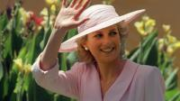 Image d'archive de la  princesse Diana prise le 27 janvier 1988 dns la banlieue de Melbourne [Patrick Rivière / AFP/Archives]