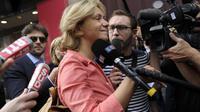 Valérie Pecresse à son arrivée le 10 juin 2014 au siège de l'UMP à Paris  [Fred Dufour / AFP/Archives]