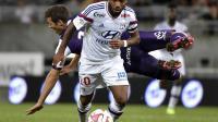 L'attaquant de Lyon Alexandre Lacazette, lors d'un match de L1 à Toulouse, le 16 août 2014 [Pascal Pavani / AFP]