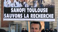 Des employés de Sanofi manifestent à Toulouse, le 17 mai 2013 [Pascal Pavani / AFP/Archives]