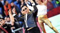 """Le chanteur sud-coréen Psy, devenu une star mondiale avec son tube """"Gangnam style"""", le 26 mai 2013 à Rome [Filippo Monteforte / AFP/Archives]"""