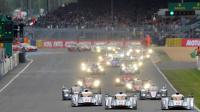 Départ des 24 Heures du Mans le 22 juin 2013 [JEAN-FRANCOIS MONIER / AFP Photo]