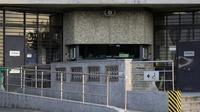 L'entrée de la prison de Fleury-Mérogis près de Paris le 9 juillet 2013 [Kenzo Tribouillard / AFP/Archives]