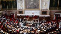 L'hémicycle de l'Assemblée nationale le 23 juillet 2012 [Pierre Andrieu / AFP]