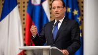 François Hollande pendant le sommet des pays des Balkans occidentaux à Brdo Pri Kranju, en Slovénie, le 25 juillet 2013 [Jure Makovec / AFP]